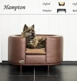 Chester & Wells Hampton Hundesofa braun medium