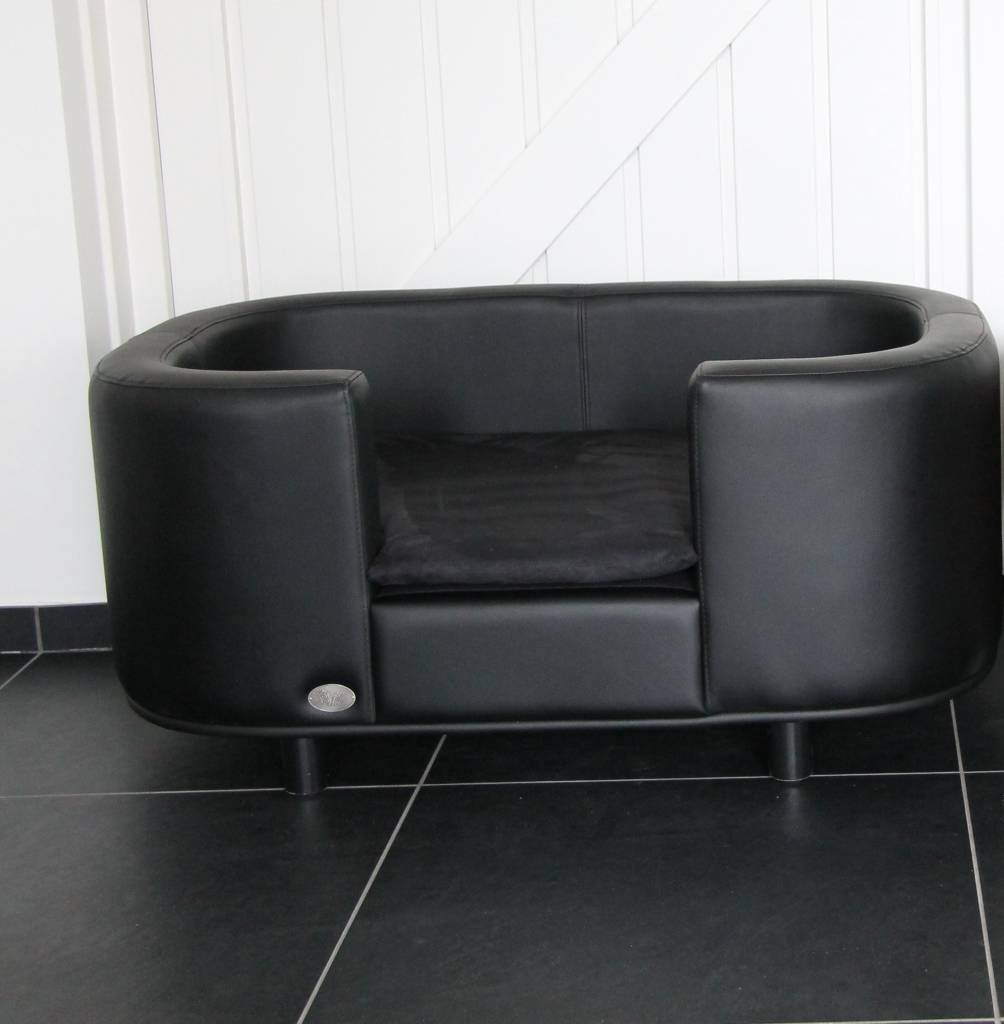 Chester & Wells Hampton Divano per cani modello più medium nero