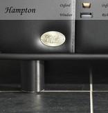Chester & Wells Banc pour chien Hampton de couleur noir medium taille