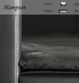 Chester & Wells Hampton Hondenbank medium zwart