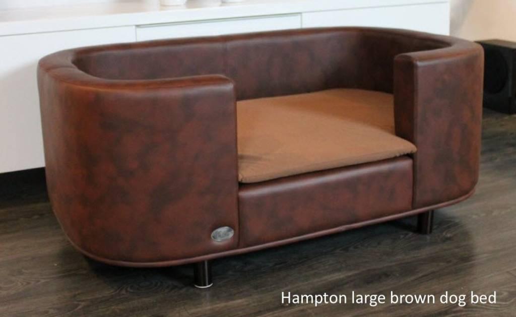 Hampton Hundesofa farbe braun large - Chester & Wells Weimaraner For Sale