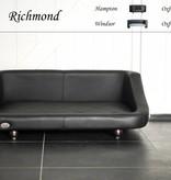 Chester & Wells Richmond Hondenbank large zwart