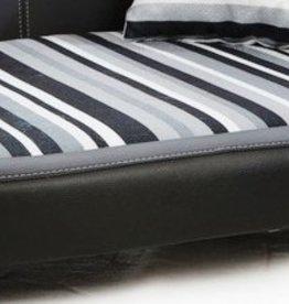 Almohadas perro de reemplazo Oxford II tamaño pequeño negro