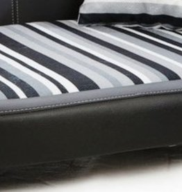 Almohadas perro de reemplazo Oxford II tamaño medium negro