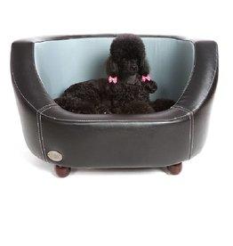 Chester & Wells Banc pour chien Oxford de coleur noir small taille
