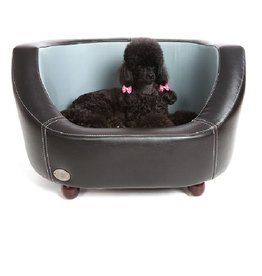 Chester & Wells Oxford Dog bed small black