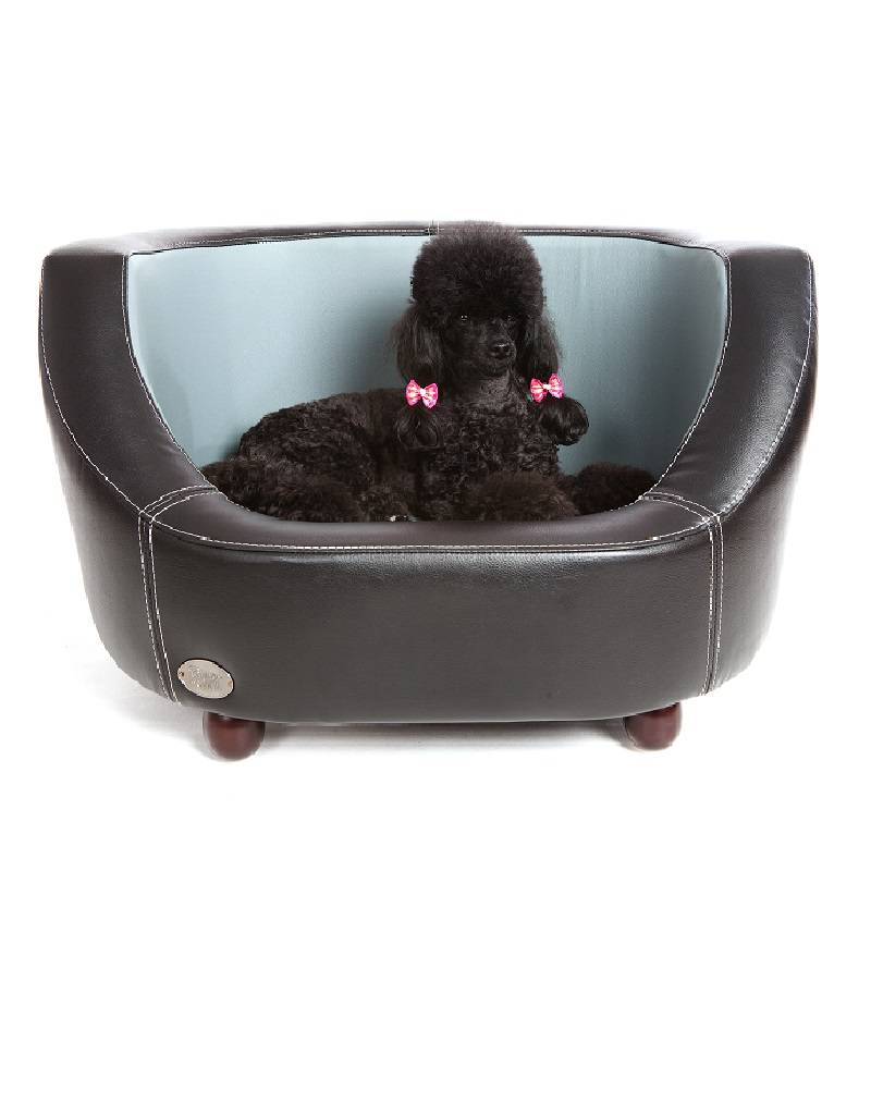 Chester & Wells Oxford Hundecouch schwarz small