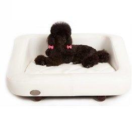 Chester & Wells Banc pour chien Richmond de coleur blanc medium taille