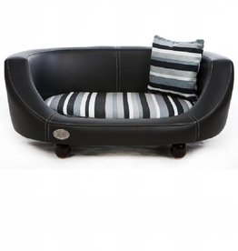 Chester & Wells Oxford II Dog bed small black