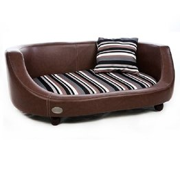 Chester & Wells Oxford II Dog bed large brown
