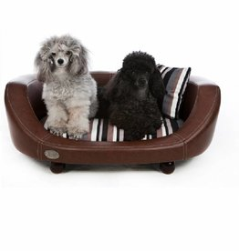 Chester & Wells Oxford II Hundesofa braun small