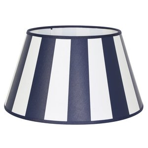 Light & Living Lampenkap 20 cm Drum KING Marine Blauw
