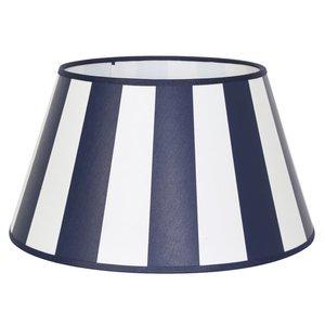 Light & Living Lampenkap 25 cm Drum KING Marine Blauw