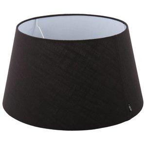 Collectione Lampenkap 25 cm Drum AVANTGARDA Zwart