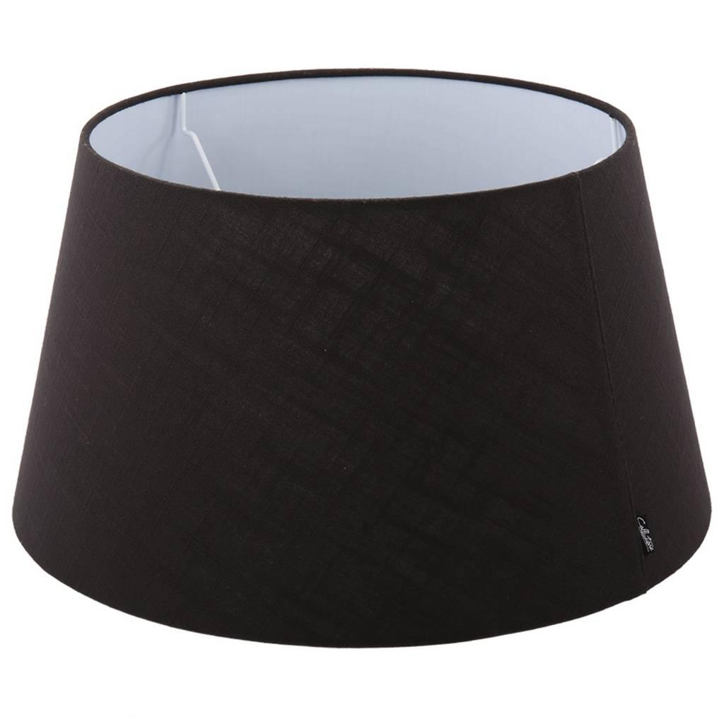 Lampenkap 50 cm drum avantgarda zwart for Collectione lampen