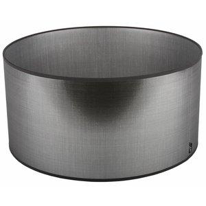 Collectione Lampenkap 28 cm Cilinder AZZURO Zilver