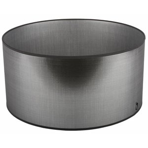 Collectione Lampenkap 36 cm Cilinder AZZURO Zilver