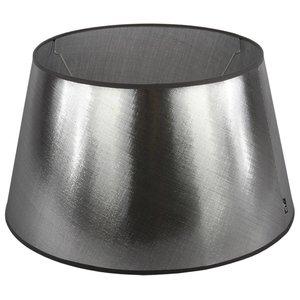 Collectione Lampenkap 35 cm Drum AZZURO Zilver