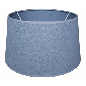 RamLux Lampenkap 40 cm Drum FINNO Ijsblauw