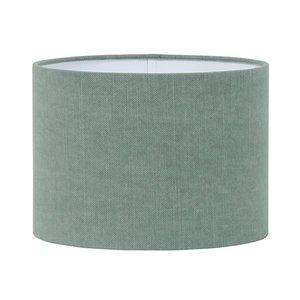 Light & Living Lampenkap 40 cm Cilinder VINTAGE Fir Groen