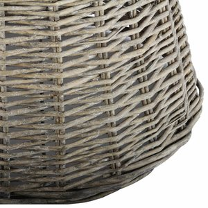 Collectione Lampenkap 40 cm Drum RIVIERA BEACH Grey Wash