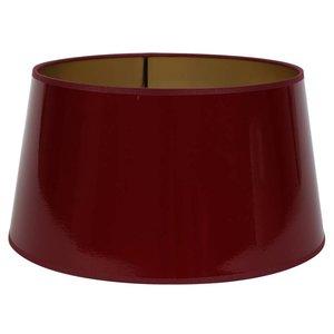 Light & Living Lampenkap 30 cm Drum LAK Rood
