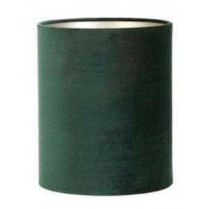 Light & Living Lampenkap 22 cm Cilinder VELOURS Dutch Green