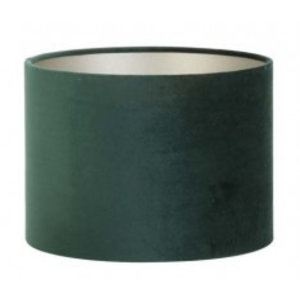 Light & Living Lampenkap 30 cm Cilinder VELOURS Dutch Green