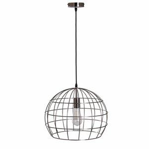 Collectione Hanglamp DANA 40 cm Nikkel Satijn