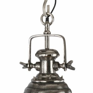 Collectione Hanglamp ASTI 30 cm Ruw Nikkel