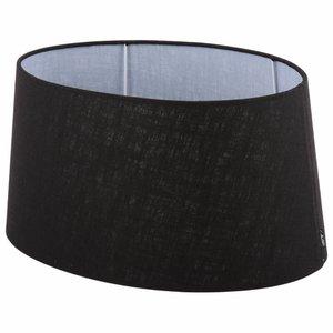 Collectione Lampenkap 20 cm Ovaal AVANTGARDA Zwart