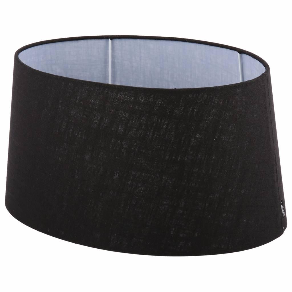 Lampenkap 40 cm ovaal avantgarda zwart for Collectione lampen