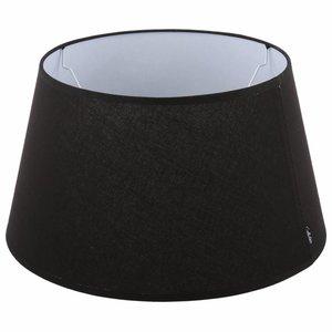 Collectione Lampenkap 30 cm Drum ELEGANZA Zwart