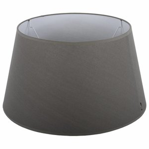 Collectione Lampenkap 20 cm Drum ELEGANZA Grijs