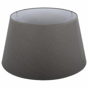 Collectione Lampenkap 25 cm Drum ELEGANZA Grijs