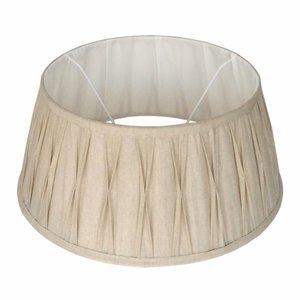 Collectione Lampenkap 20 cm Drum Plisse RIVA Naturel