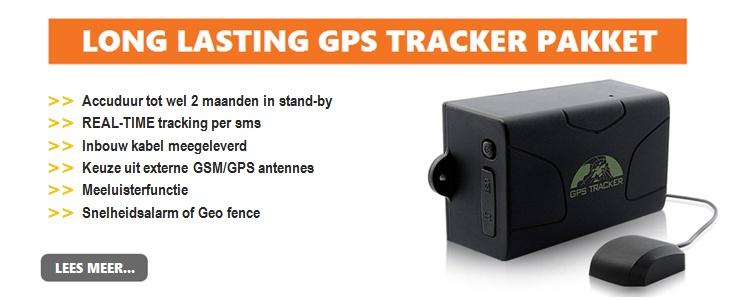 Long lasting tracker