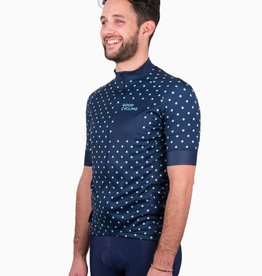 Good Cycling Dots jersey men