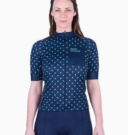 Good Cycling Dots jersey women