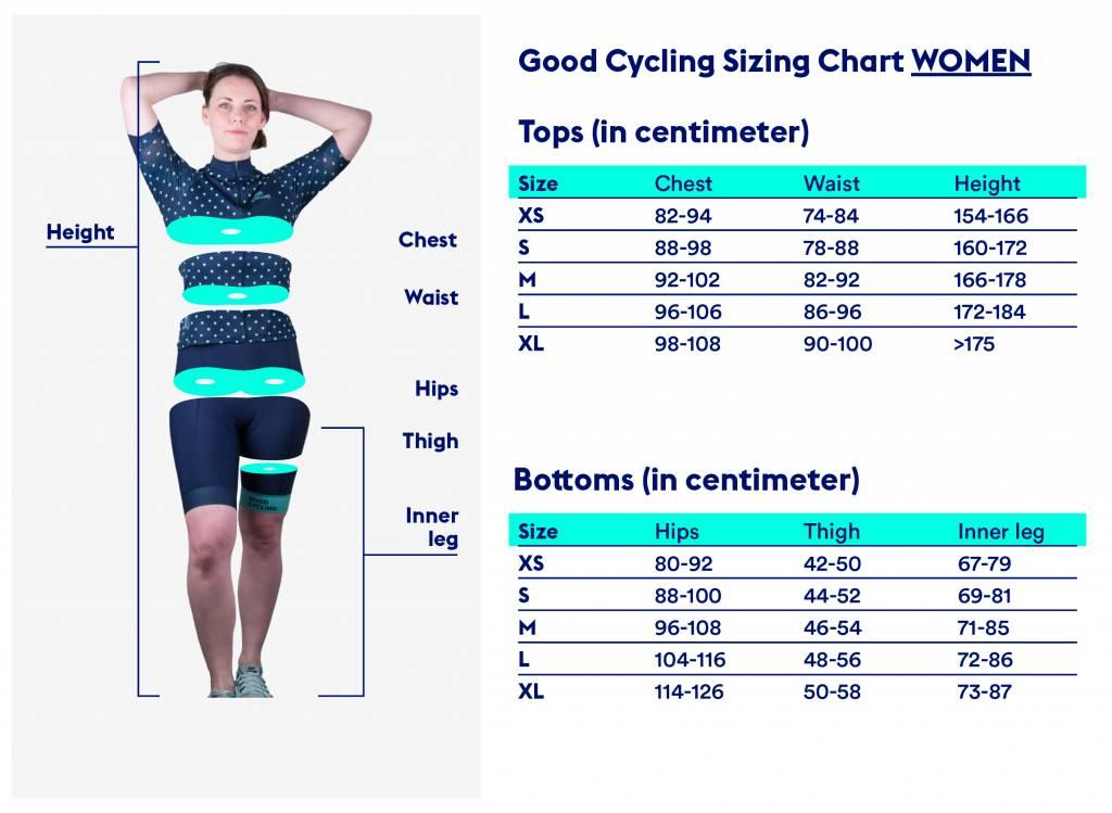 Good Cycling Bib shorts No3 women