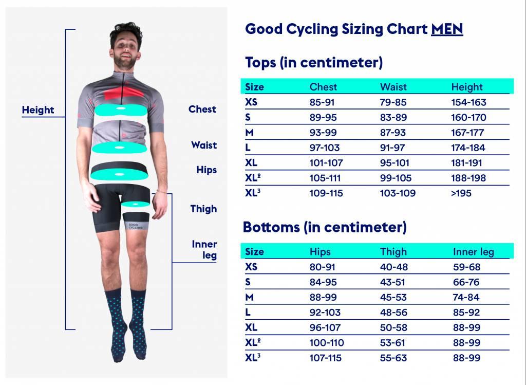 Good Cycling Bib shorts No3 men
