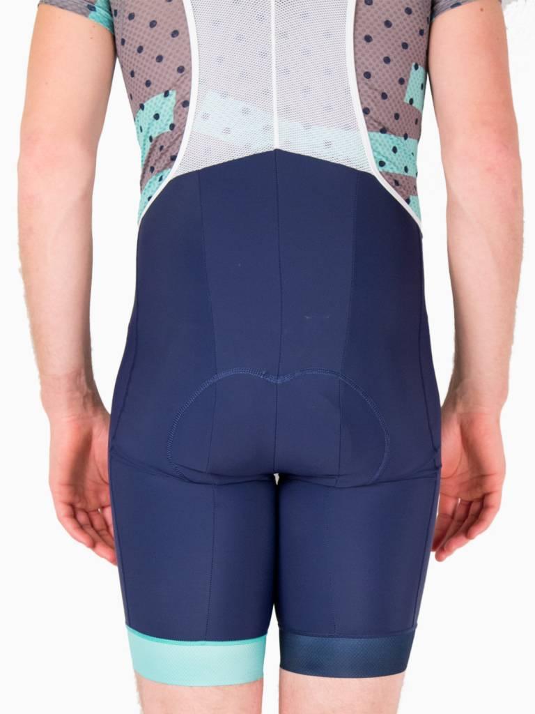 Good Cycling Wielerbroek diep blauw heren