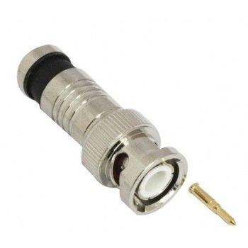 BNC compressie connector voor RG59 kabel