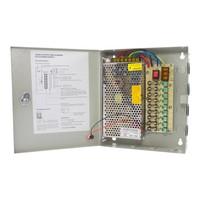 CW-VK15-9 - 12 volt 15A voedingskast met 9 aansluitingen