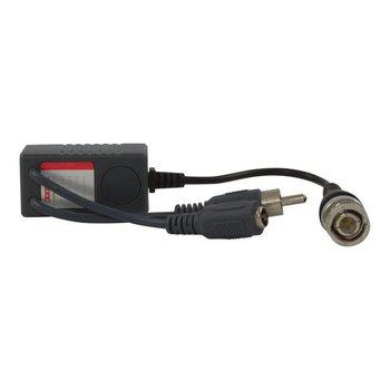 CW-BAL-T - Video balun - CopyCW-BAL-T - Video balun met audio (RCA/Tulp) aansluiting