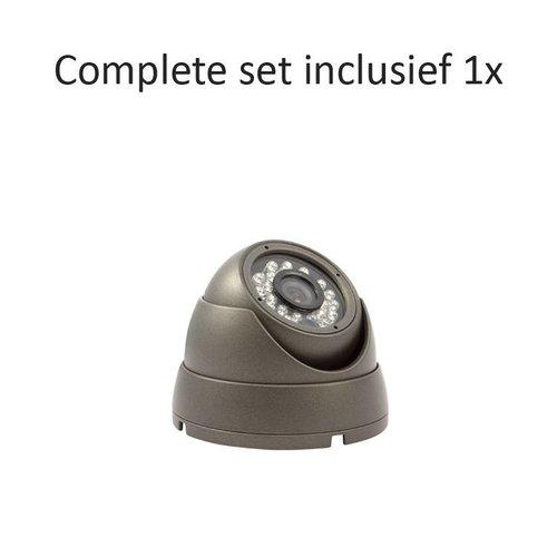 CC-CS01DC1 - 4 kanaals CVR inclusief 1 CC-DC1 camera