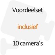 Inclusief 10 camera's