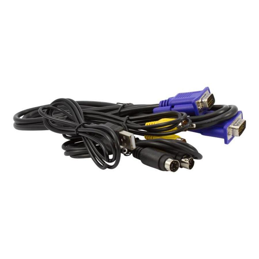 CW-OVV - Omvormer VGA naar S-Video / AV (RCA/tulp)