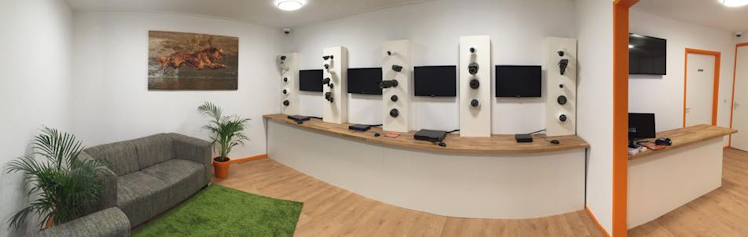 Showroom beveiligingscamera
