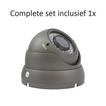 CF-CS01DC2 - 4 kanaals CVR inclusief 1 CF-DC2 camera